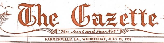 28 Gazette