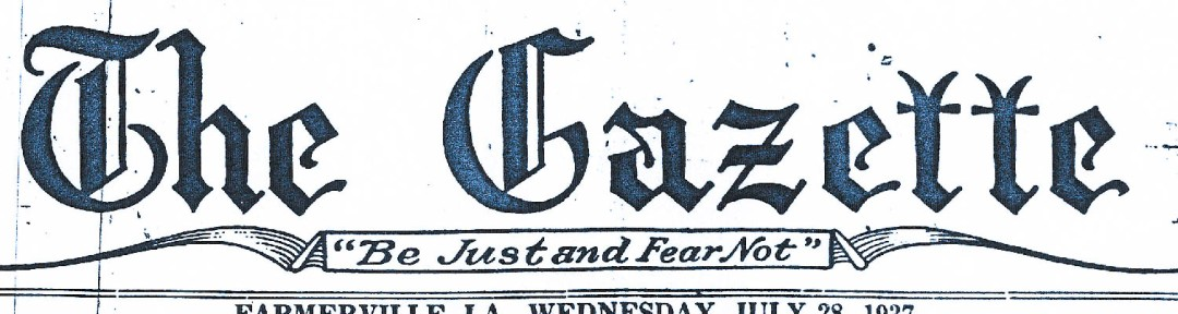 36 gazette